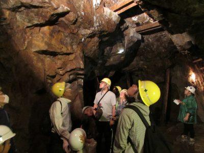 明延鉱山探検坑道